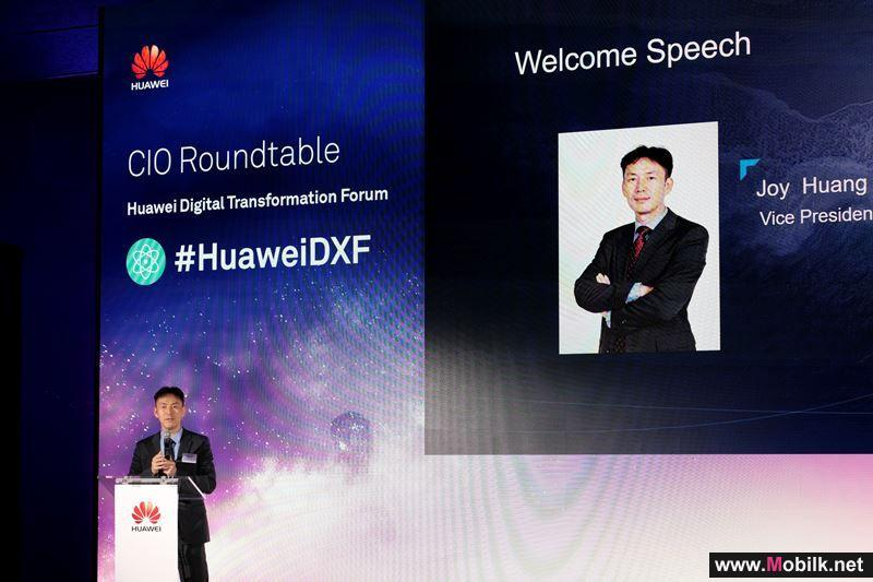 Huawei and Gartner host ICT industry leaders and experts at Huawei Digital Transformation Forum