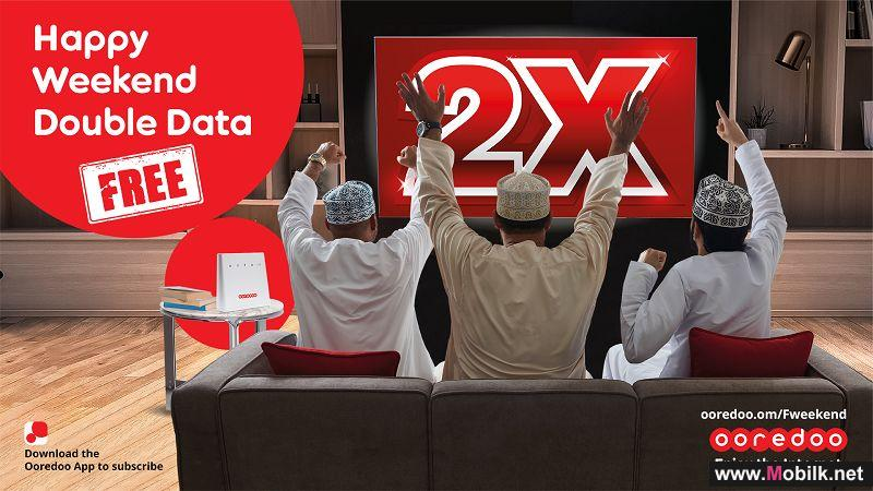 Ooredoo Gives Double Home Internet Free with Weekend Data Offer