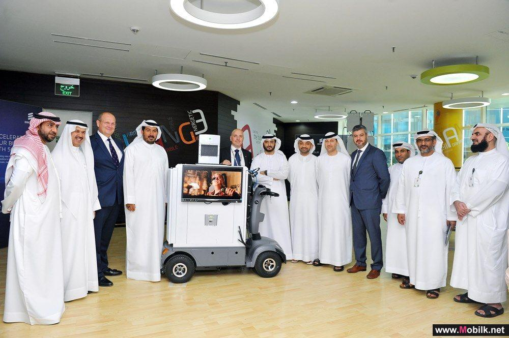 Ericsson and Etisalat conduct 5G trial with outdoor mobility