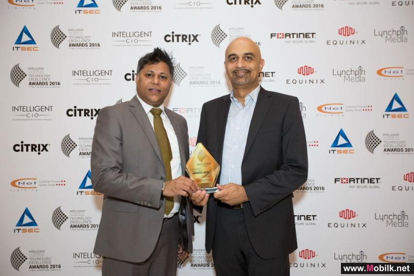 eHosting DataFort Awarded 'Managed Services Provider of the Year' at the Intelligent CIO Technology Excellence Awards 2016