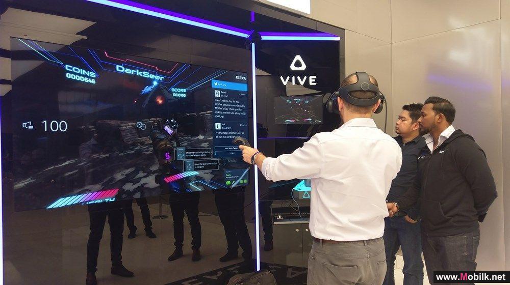 """HTC Vive تنطلق بألعاب جديدة تجسد أكثر فيلم منتظر في العالم """"Ready Player One"""""""
