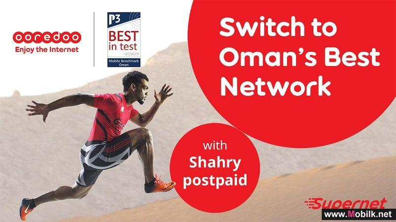 Ooredoo Awarded Oman's Best Network by P3