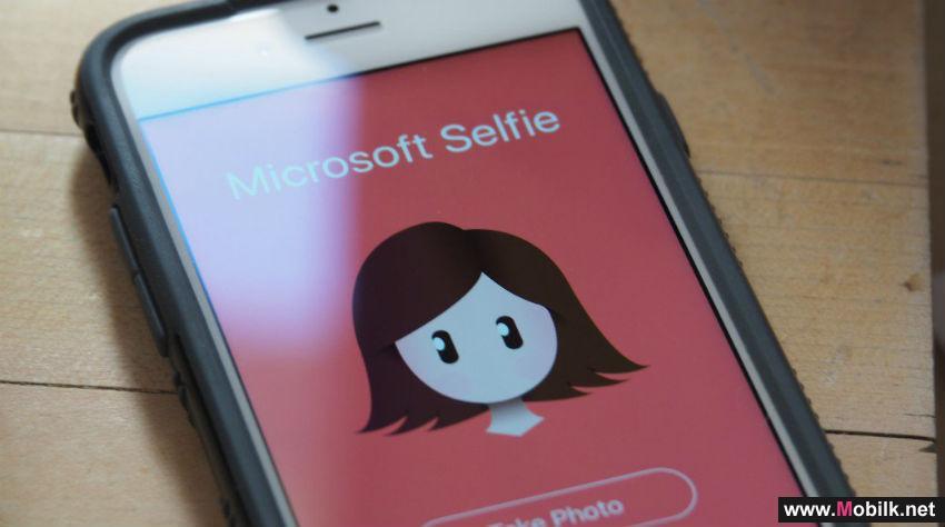 مايكروسوفت تطلق تطبيق صور selfie لأجهزة آيفون
