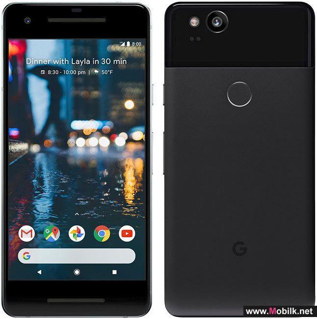 جوجل تطلق رسميا هواتف «Pixel 2»  و «Pixel 2 XL»