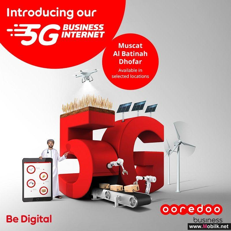 Ooredoo Launches 5G Plans for SMEs Starting at just OMR 29.4 per Month
