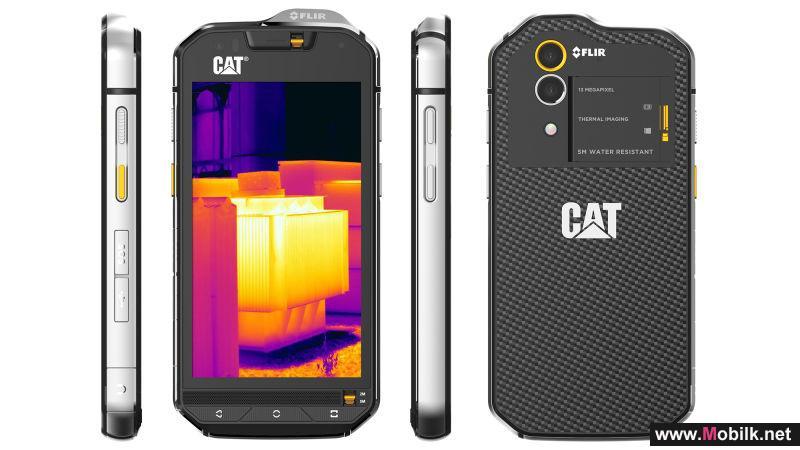 أول هاتف ذكي في العالم مزود بكاميرا حرارية