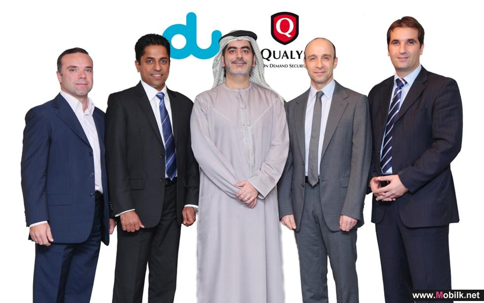 دو تعقد اتفاقية مع (كواليس) لتوفير خدمات الوقاية من الهجمات التقنية عبر حلول أمن المعلومات السحابية المدارة في الإمارات