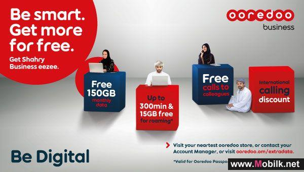 Ooredoo Helps Business with Up to 150GB Extra Data Every Month