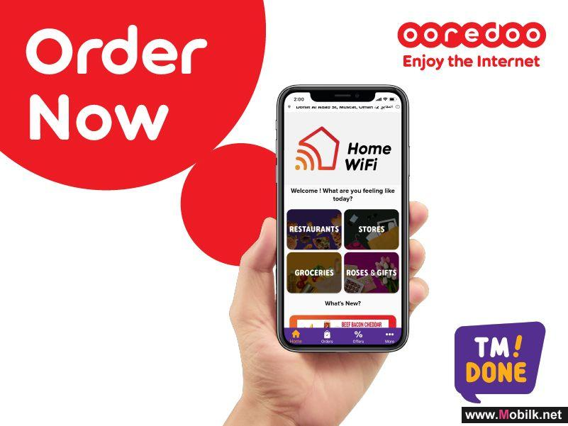 Sit Back and Get Ooredoo Home Internet on TM Done!