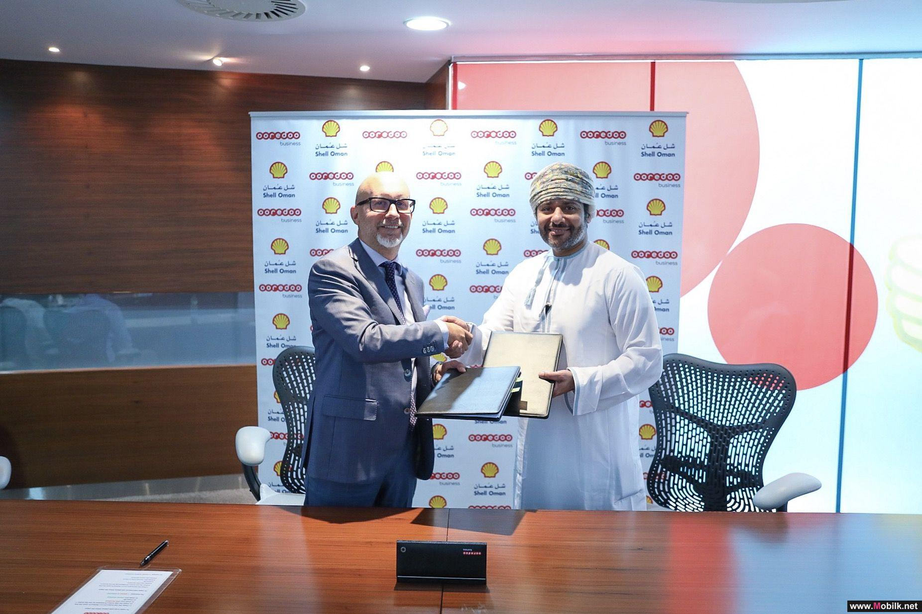 Shell Marketing Oman Signs with Ooredoo as its Digital Partner of Choice