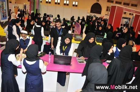 Zain Bahrain attracts maximum students at Career Expo 2012