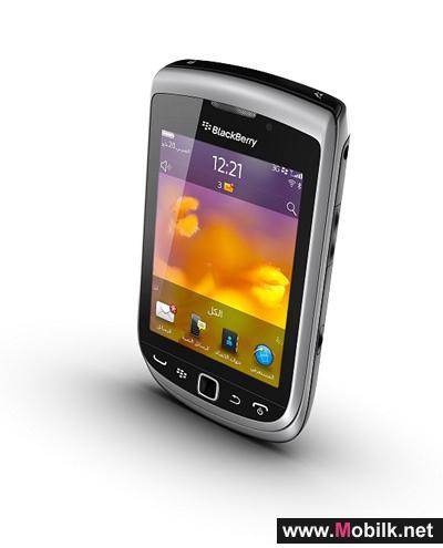 RIM تطلق هاتف BlackBerry Torch 9810 الذكي الجديد في الإمارات