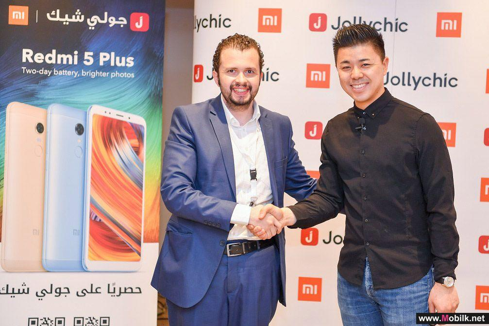 Xiaomi partners with JollyChic to bring Redmi 5 Plus to KSA