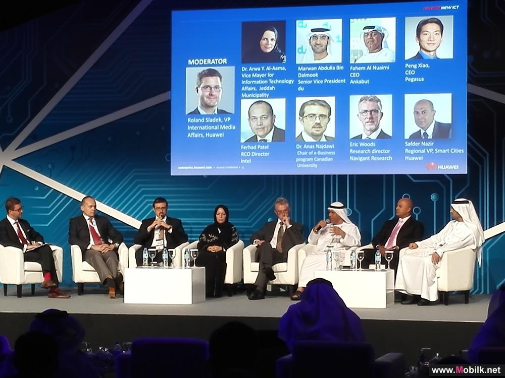 Industry leaders discuss the impact of ICT innovation in shaping the region's future at Huawei ME Innovation Day