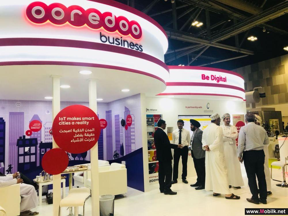 Ooredoo Displays IoT Technologies at Energy and Water Exhibition
