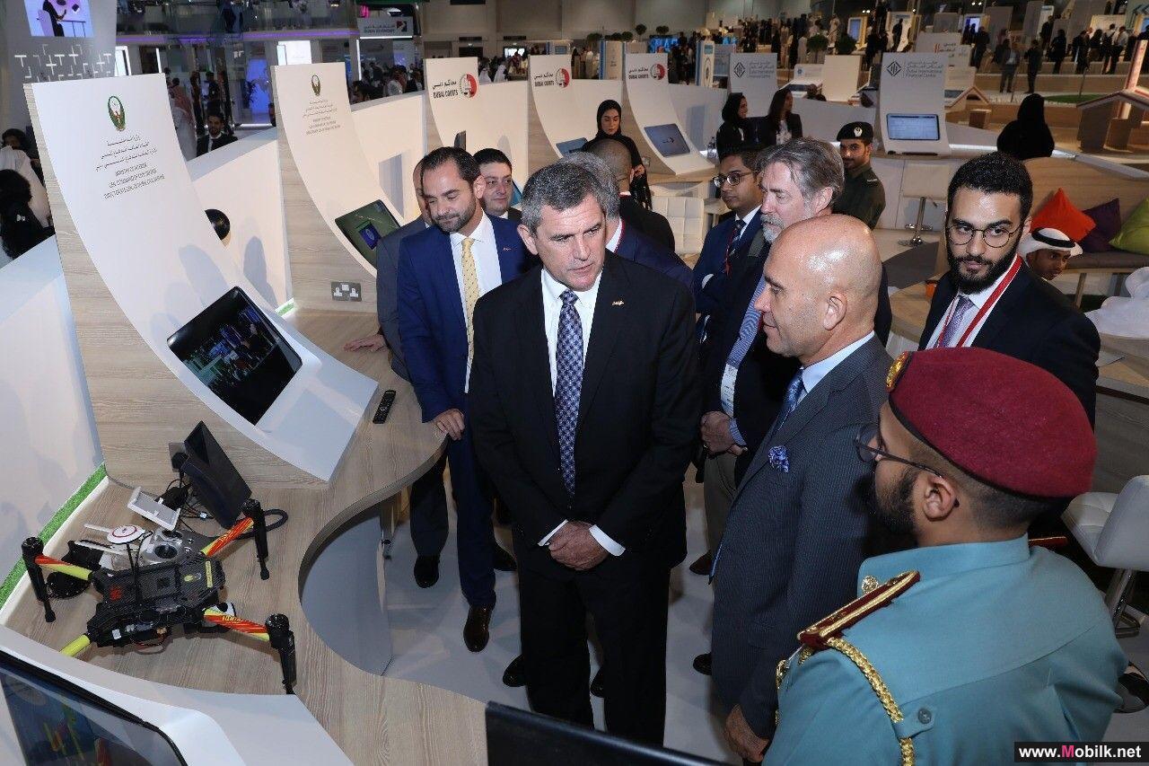 دفاع مدني دبي يطلق طائرة بدون طيار بالتعاون مع شركة