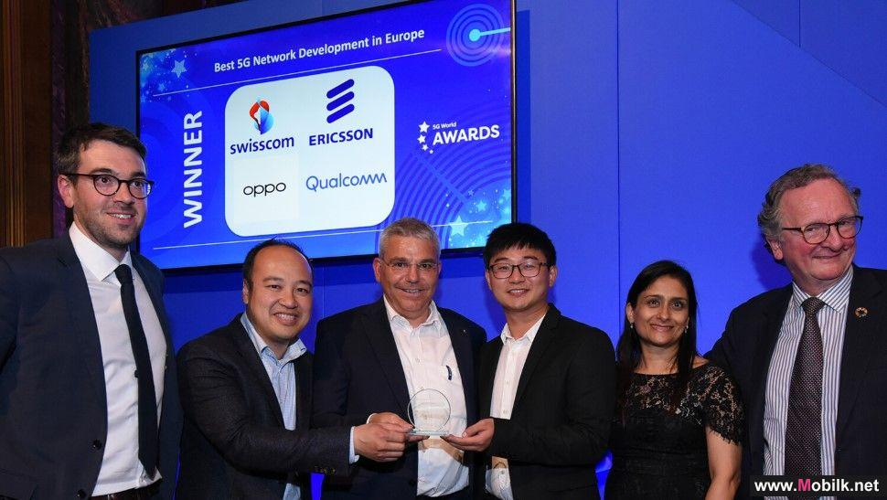 Ericsson's 5G leadership in Europe awarded at World 5G Summit