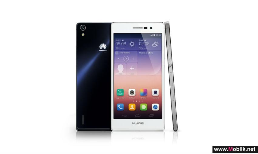 Huawei Launches Flagship Ascend P7 in the Region