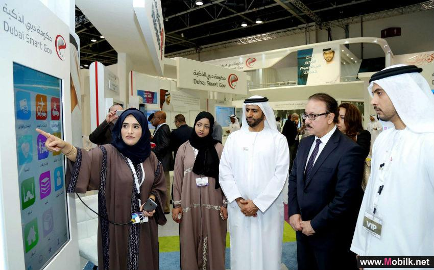 Egyptian delegation headed by Minister of Communications and Information Technology visits DSG's stand at Gitex 2015