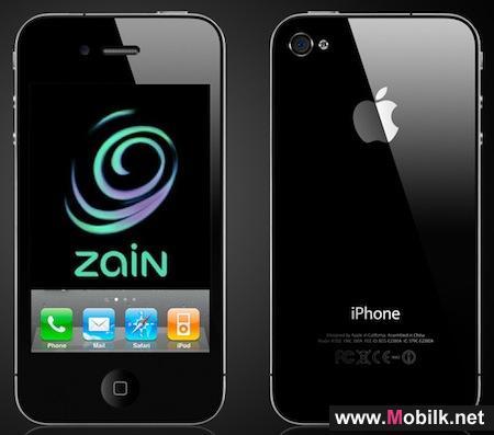 في الكويت خلال الأسابيع المقبلة زين تستعد لإطلاق هاتف آي فون 4