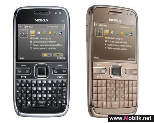 Nokia E72 in stores now
