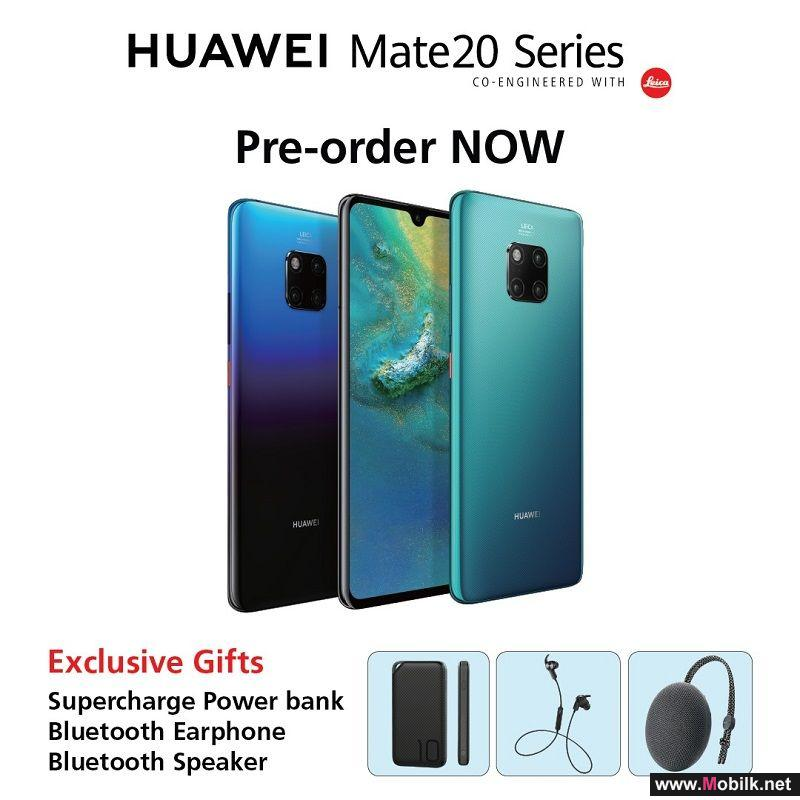 Huawei Mate20 and Mate20Pro Available with Zero Down-Payment and Easy Installments on Shahry Plans