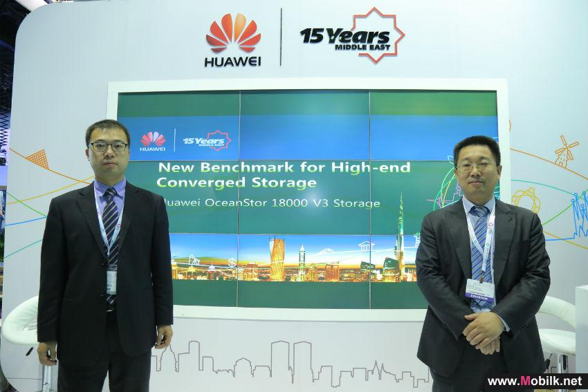 Huawei Unveils Next-Generation Cloud and Storage Solutions to Address Rapid Influx of Big Data and IT Transformation for Middle Eastern Businesses