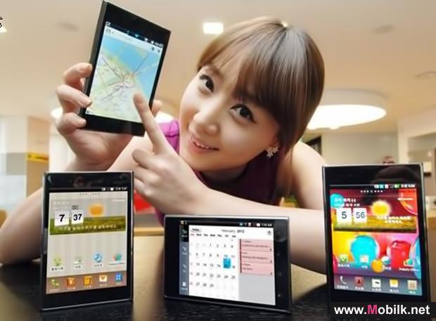إل جي إلكترونيكس تطلق هاتفها الذكي الجديد Optimus Vu في السوق المحلية