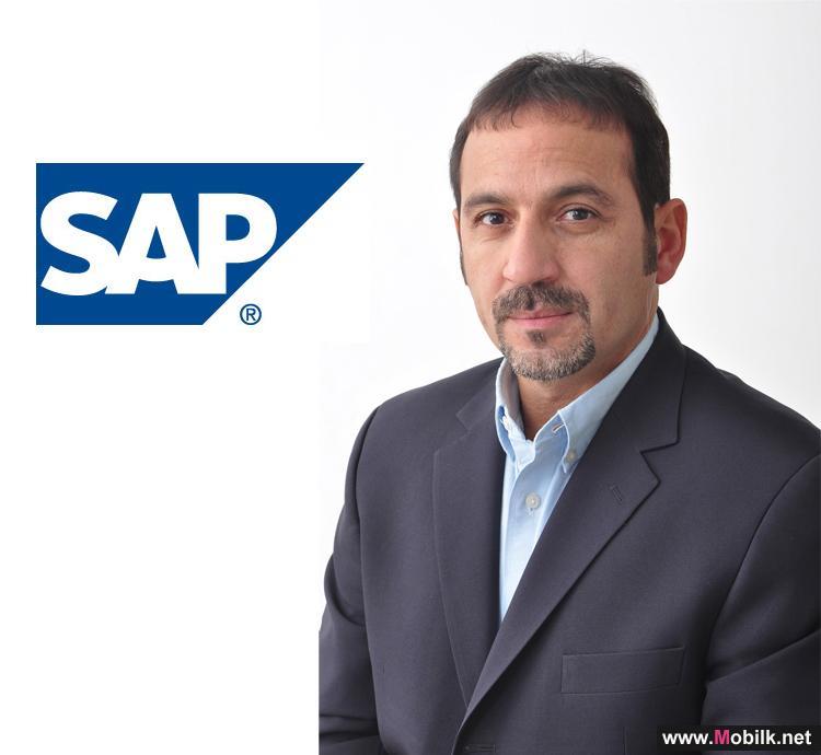 SAP الشرق الأوسط وشمال أفريقيا تعيّن غسان أبو إصبع بمنصب مدير المبيعات بدولة الكويت