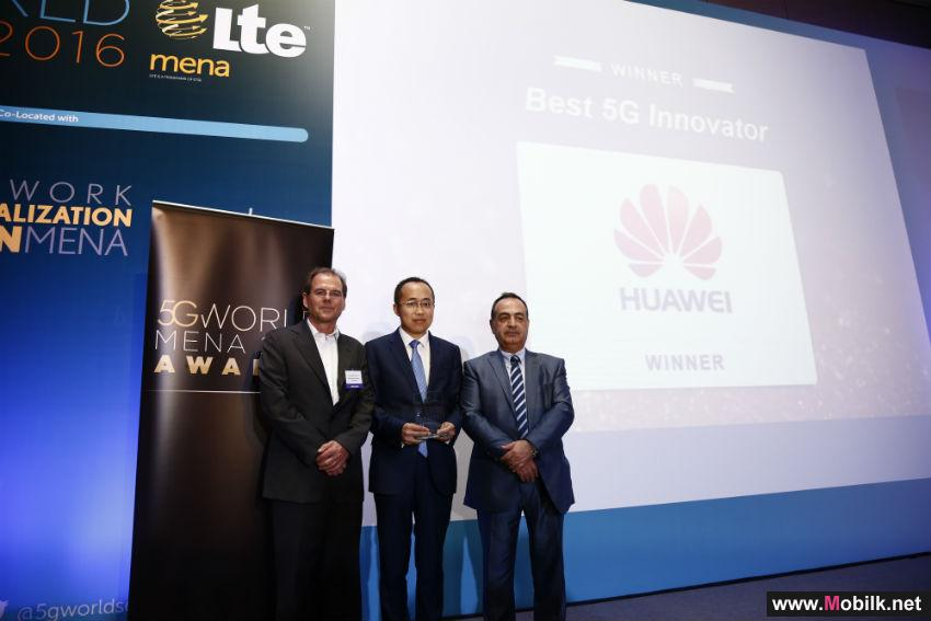 "Huawei takes home the title of ""Best 5G Innovator"" at inaugural LTE & 5G MENA Awards in Dubai"