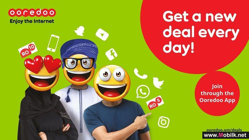 Ooredoo Creates Exciting New Deals for Customers Every Day