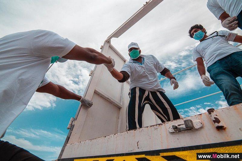 Ooredoo تتعاون مع جمعية دار العطاء لمساعدة الأسر المتضررة من جائحة انتشار فيروس كورونا المستجد