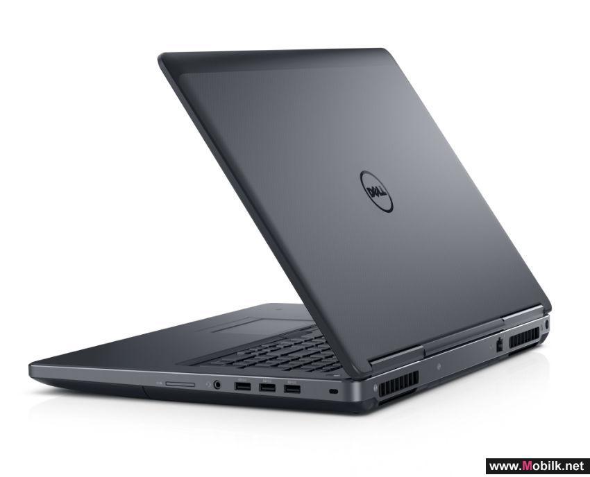 محطات عمل محمولة جديدة من Dell بأداء أقوى ووزن أخف