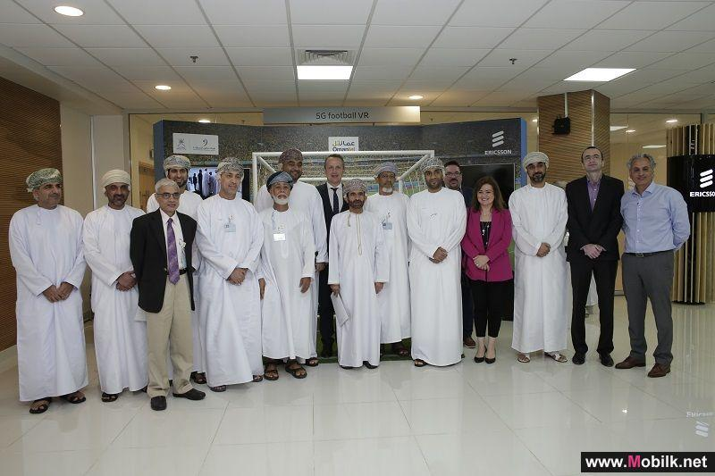 Oman Telecom Authority, Omantel and Ericsson showcase future