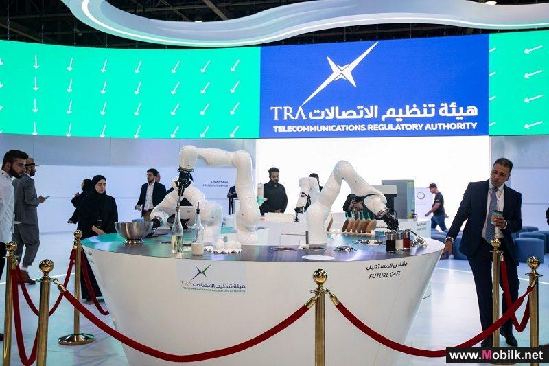 TRA presents «Smart Robotic Chef» on its GITEX stand