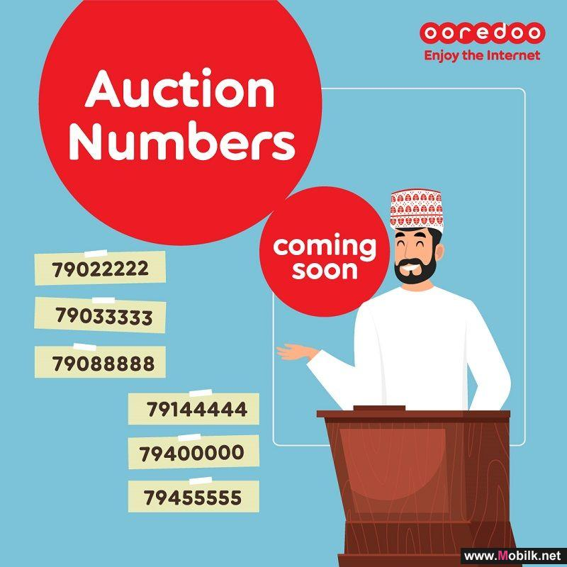Bag a Number that No-One will Forget at Ooredoo's Number Auction