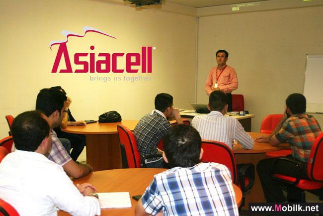 آسياسيل تعقد دورة تدريبية صيفية في مجال الاتصالات لطلاب الجامعات العراقية