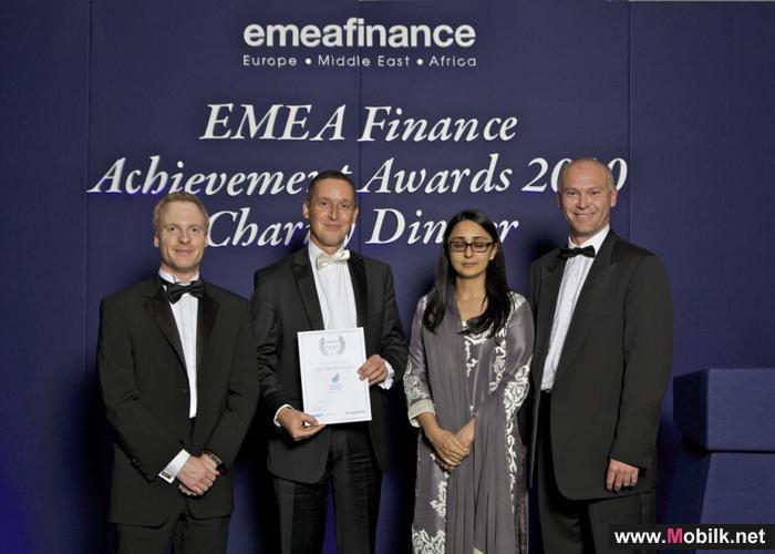 النورس تفوز بجائزة أفضل إكتتاب عام في الشرق الأوسط في حفل EMEA لتوزيع الجوائز المالية في لندن