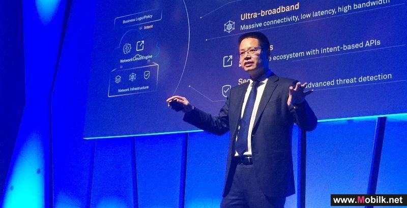 Huawei Launches Intent-Driven Network and AUTIN Automation and Intelligence Solution at MWC