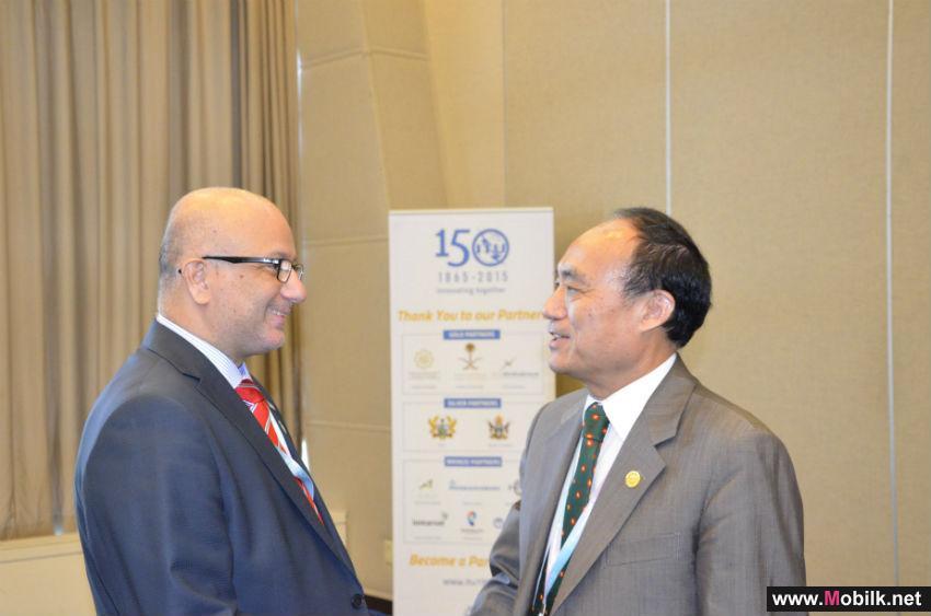 وفد دولة الإمارات يلتقي كبار المسؤولين المنتخبين للاتحاد الدولي للاتصالات