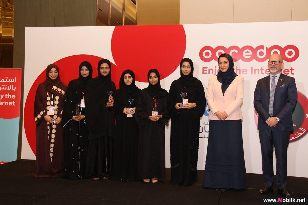 Ooredoo تُكرم أعضاء فريق مشروع 'وصلة عافية'