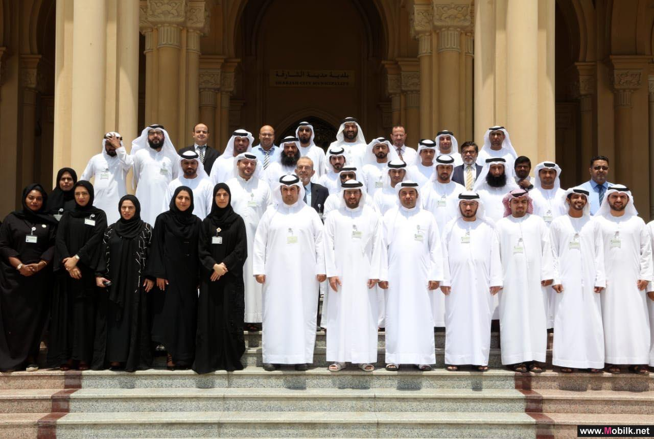 Exchanges of experience between the TRA and the Sharjah Municipality in the field of digital transformation