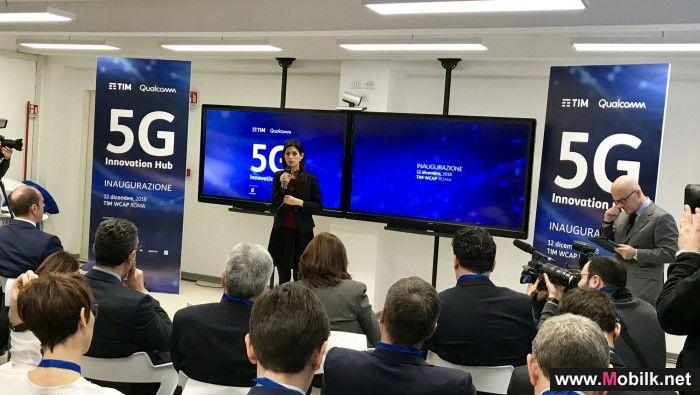 تليكوم إيطاليا وإريكسون تتعاونان لإجراء أول مكالمة فيديو باستخدام طيف التردد الموجي المليمتري لتقنية الجيل الخامس في أوروبا