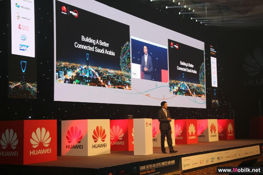 Huawei Latest ICT Innovations to Build a Better Connected KSA at Huawei Day 2015