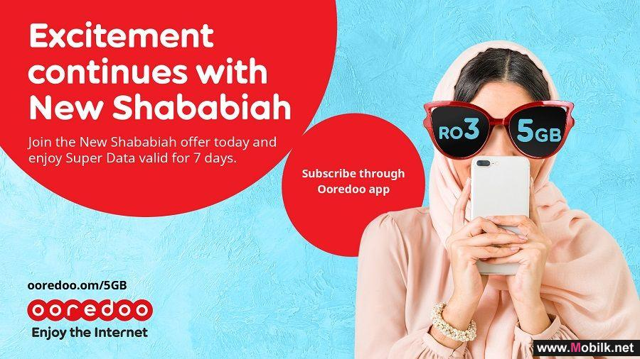 Ooredoo Kicks off the New Year with Super Data Offer