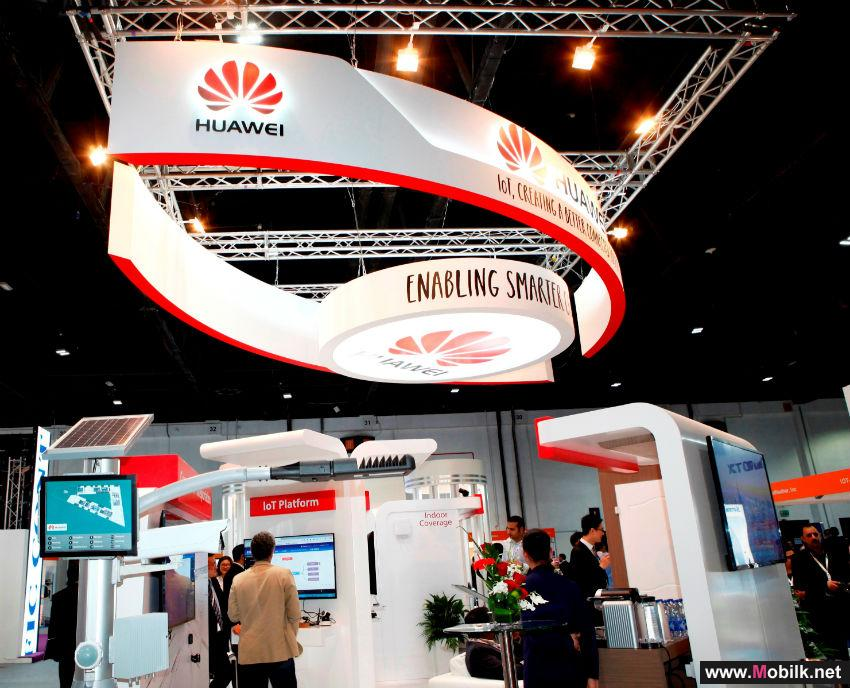 Huawei Demonstrates Internet of Things (IoT) Capabilities To Build a Better Connected Middle East at IoTx 2015