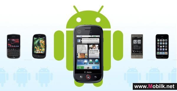 مبيعات هواتف أندرويد تبلغ 700 ألف جهاز يوميا