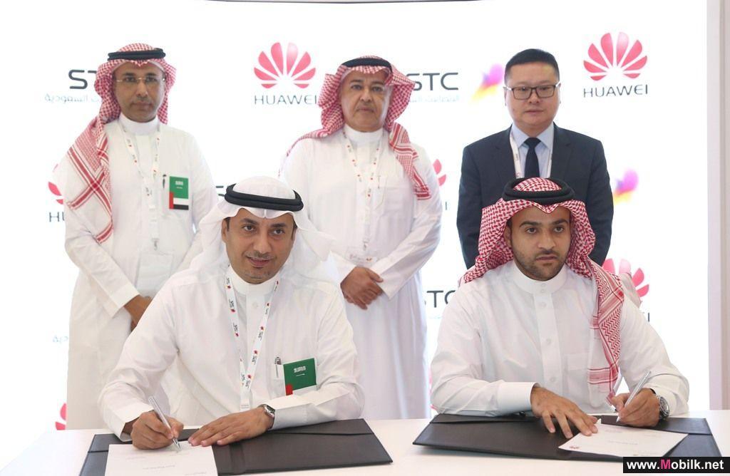 STC توقع اتفاقيات ثنائية مع نوكيا واريكسون وهواوي لتعزيز سعات النطاق العريض المتنقل