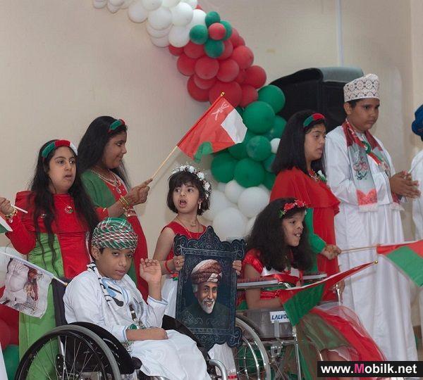 Ooredoo تحتفل بالعيد الوطني الـ49 المجيد مع جمعية رعاية الأطفال المعوقين