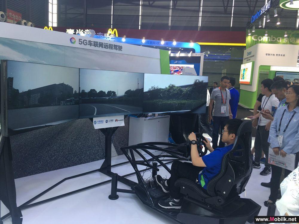 هواوي تستعرض تقنيات القيادة عن بعد عبر شبكة الجيل الخامس (5G) بالتعاون مع تشاينا موبايل وشركة سايك موتور